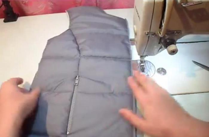 Как сделать карманы на жилете