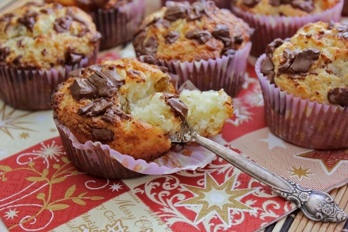 творожные кексы без муки рецепт