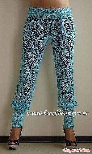 Flaglux Вязанные штаны для девочки 5 лет на спицах. Модный...