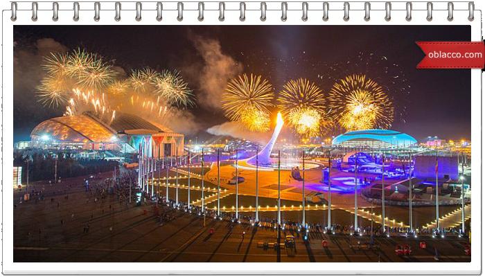 Открытие Олимпиады Сочи