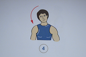 Упражнения при боли в шее 4 (300x200, 81Kb)