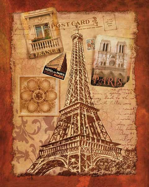 Открытка в виде башни, день рождения лотос