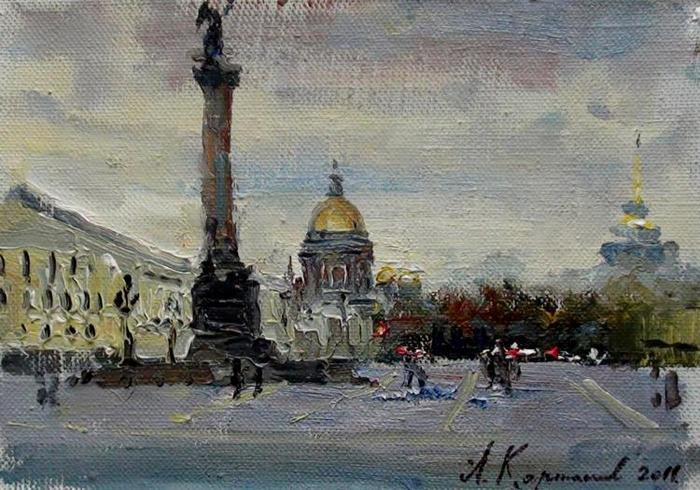 Карташов Андрей. Дворцовая площадь (700x490, 370Kb)