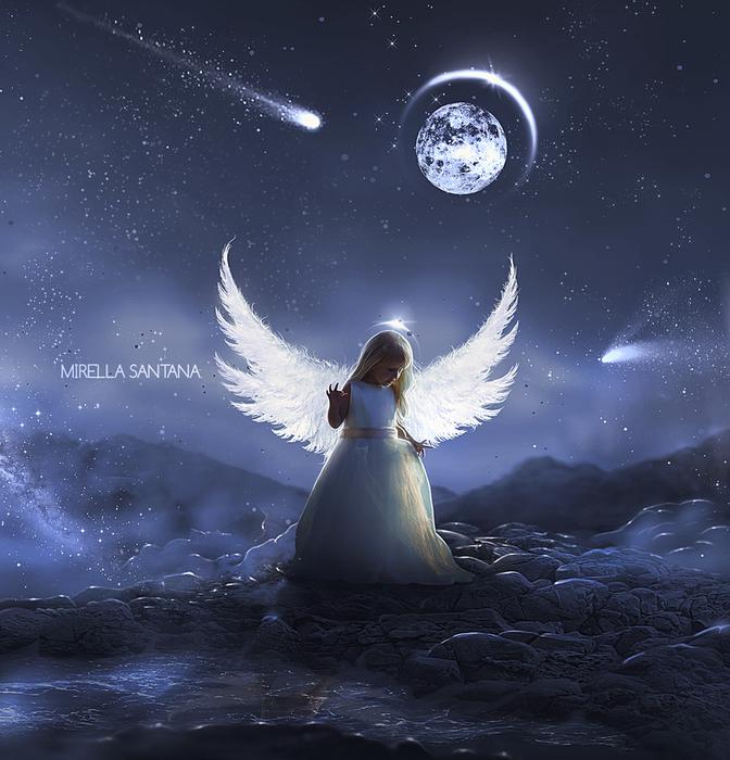картинки с ангелами на ночь производство