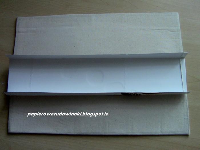 Настольная подставка для бумаг. Мастер класс