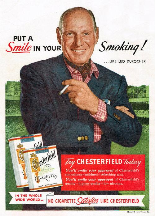 что значит реклама табака на фото диагностика