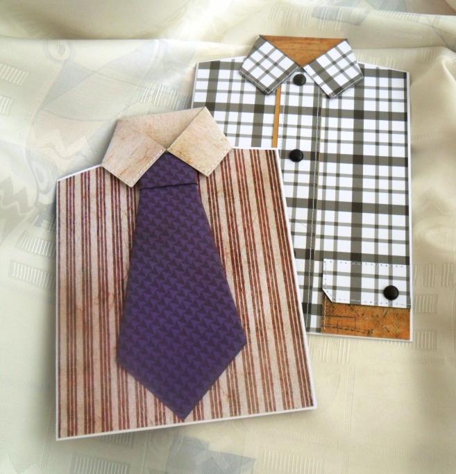 Открытка рубашка с галстуком видео