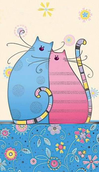 Сделать открытку с кошками, картинки животных