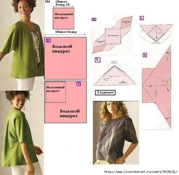8396c734854 Простые выкройки женской одежды. Обсуждение на LiveInternet - Российский  Сервис Онлайн-Дневников