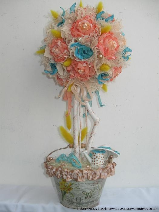 Цветы из ткани шебби шик цветы доставкой спб