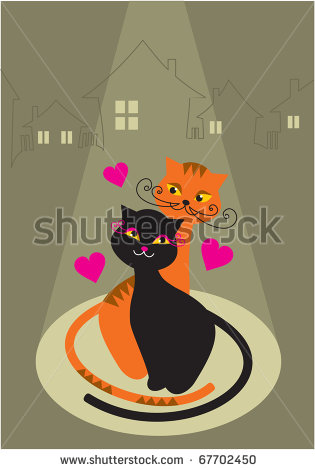 stock-vector-love-cats-67702450 (315x470, 29Kb)