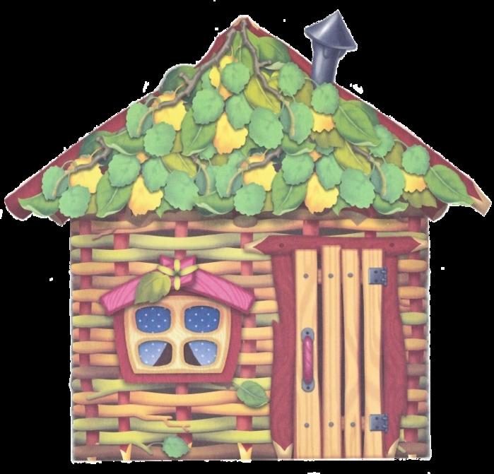 Сказка домики три поросенка в картинках