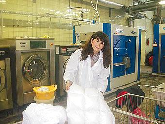 Работа уборщицей в прачечную