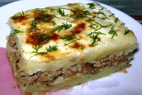 картофельная запеканка в духовке рецепт с фото пошагово