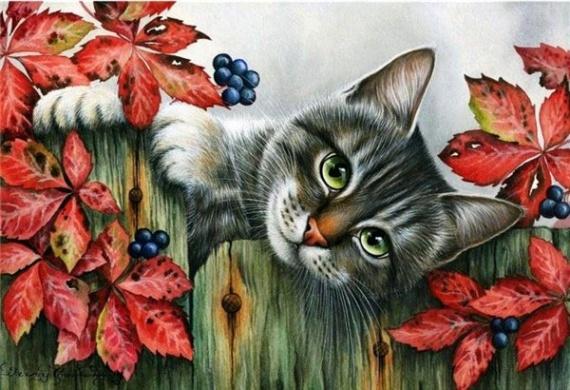 картинки для декупажа кошки и коты
