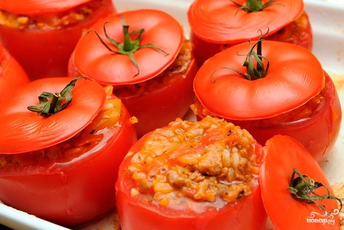 Закуски с помидорами - рецепты с фото 69