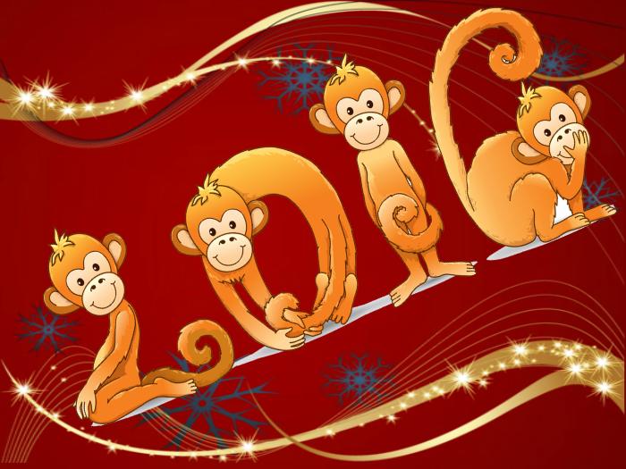 Картинка уходит год обезьяны