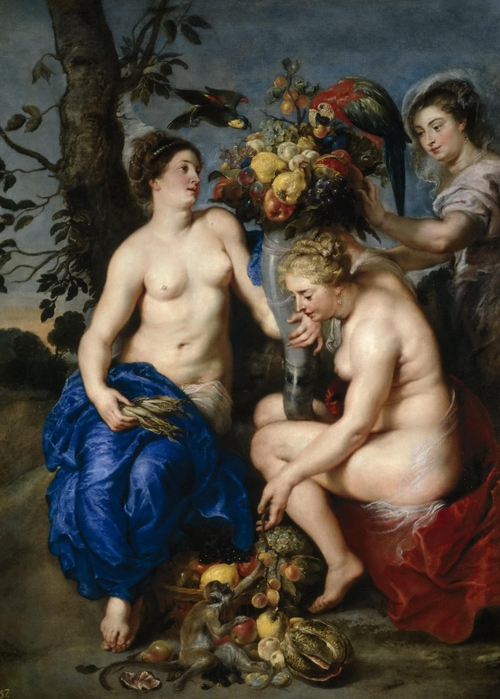 2097049_Rubens_Peter_Paul_15771640_and_Snyders_Frans_15791657__Ceres_with_Two_Nymphs_c_1624_oil_on_canvas_223x162_cm__Prado_Madrid_Spain (500x700, 264Kb)//2097049_Rubens_Peter_Paul_15771640_and_Snyders_Frans_15791657__Ceres_with_Two_Nymphs_c_1624_oil_on_canvas_223x162_cm__Prado_Madrid_Spain (500x700, 264Kb)