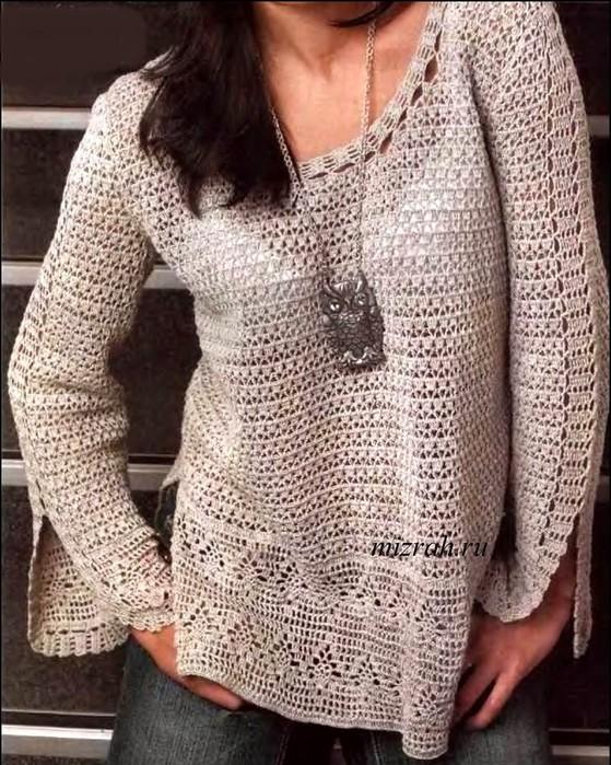 пуловер (559x700, 155Kb)