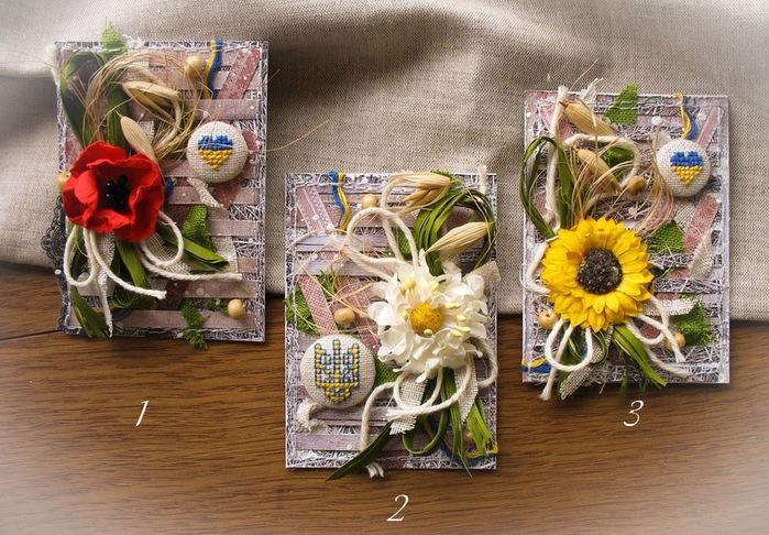 Благовещения, поздравительные открытки из природного материала