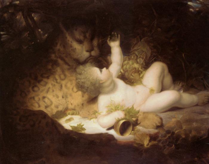 Westal_Richard_The_infant_Bacchus_Oil_on_Canvas-large (700x548, 105Kb)