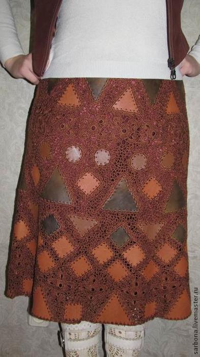 вязание кожей мастер класс