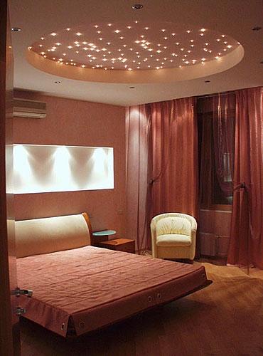 красивые потолки фото в спальне