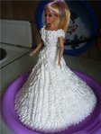 Тематические галереи тортов.  8080. Sladolka.  Барби-невеста.  Куклы.