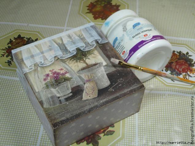 Декупаж. Рисуем вуаль со складочками. Мастер-класс (15) (635x476, 157Kb)