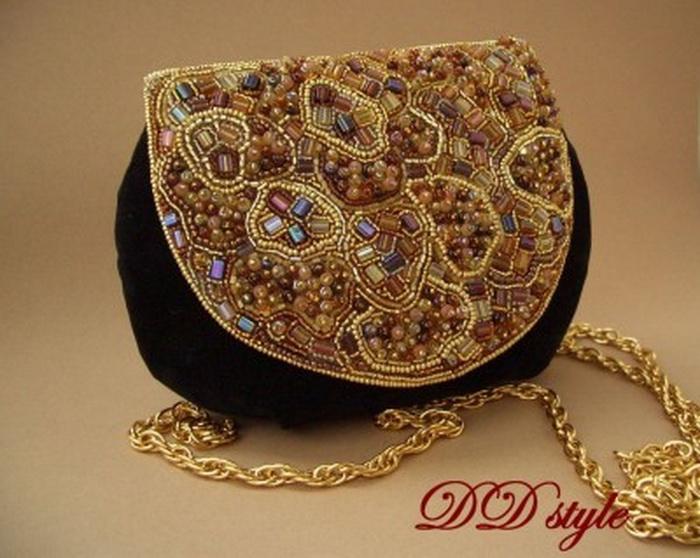 d7f730a88cf7 Фото Вечерняя сумочка Двадцать девять, Вышивка бисером ...