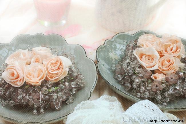 Япония цветы из ткани шелка фото мастер класс инструкция #10