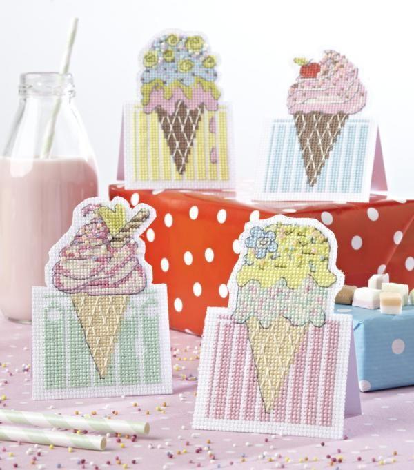 Мороженое открытка