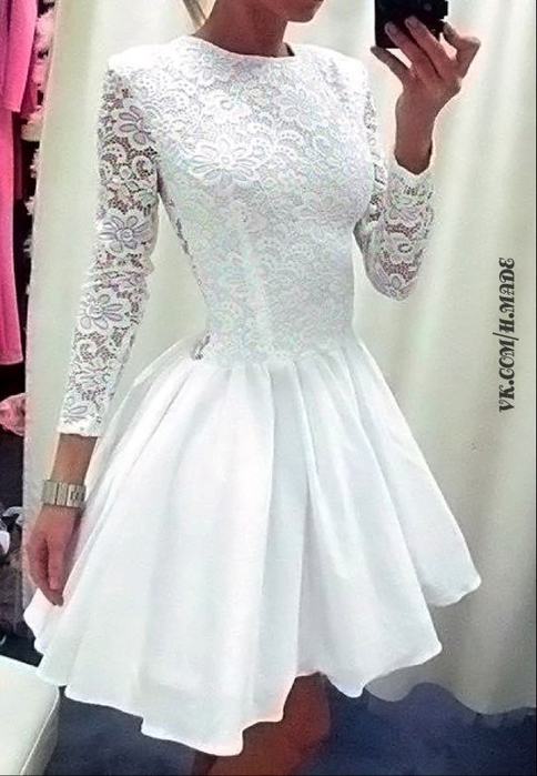 Lace Prom Gowns Lace Cocktail Party Dresses PromGirl