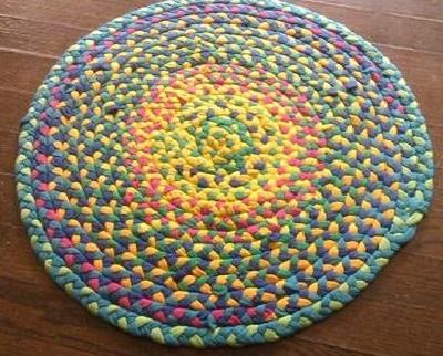 вязаные крючком коврики самое интересное в блогах