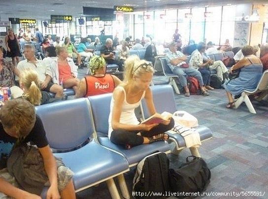 Девушка которая не села в самолет