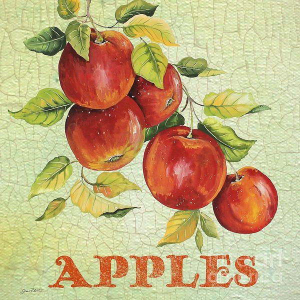 Яблоко картинки для декупажа