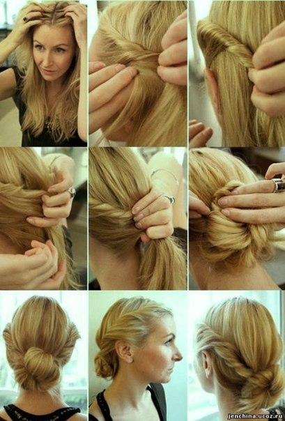 Как красиво заколоть короткие, средние и длинные волосы