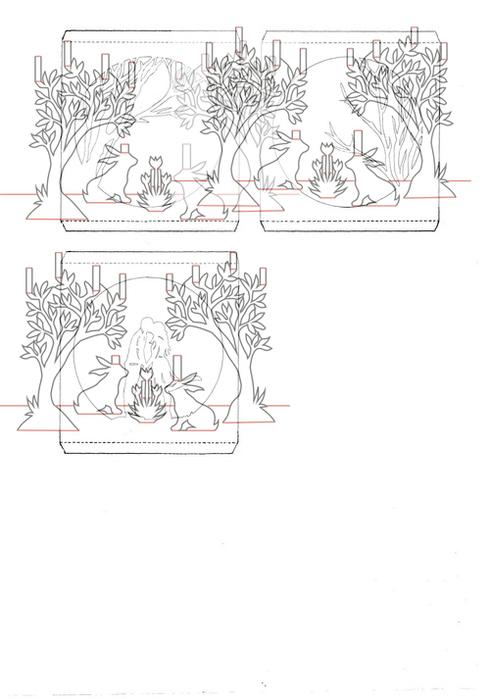 Окошко новогодняя, открытки тоннели схемы
