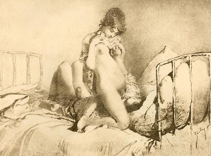 Порнографические рисунки пушкина