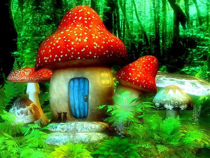Открытка грибочки супер