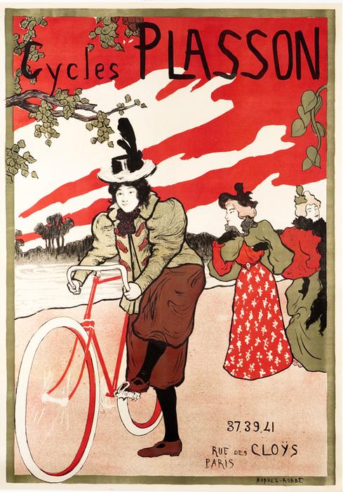 плакат ретро франция подружки