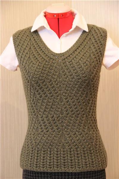 французские диагонали спицами в джемперах платьях и пуловерах