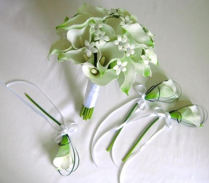 Букет невесты лилии калл цена, купить
