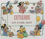 Превью Vervaco 70.914 Disney babies birth sampler (347x300, 82Kb)