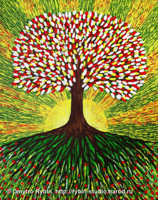 Детей, дерево жизни картинки по изо