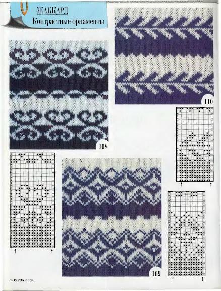 Вязание спицами: узоры и схемы 58