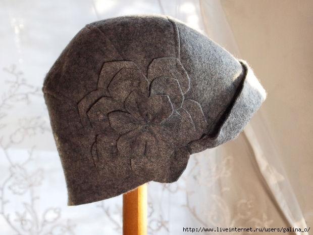 Выкройка шляпы унисекс