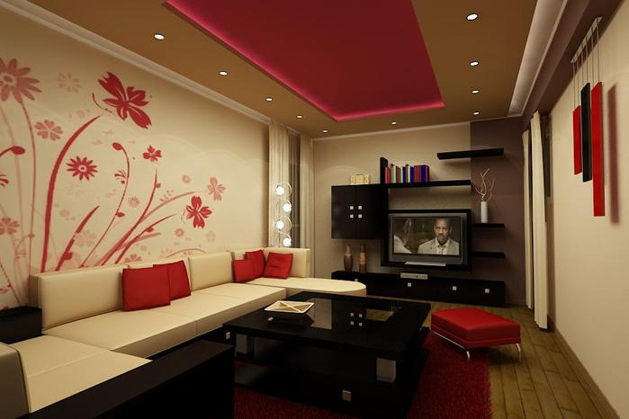 Decoration-in-red-living-room (700x466, 37Kb)