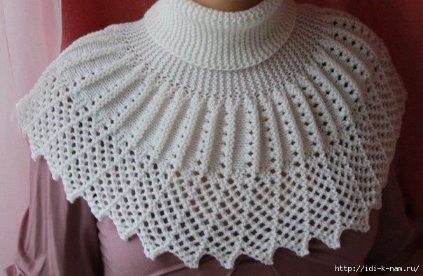 хьюго пьюго схема вязания манишки самое интересное в блогах