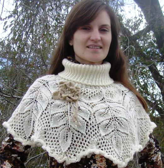 красивый шарф воротникспицами обсуждение на Liveinternet